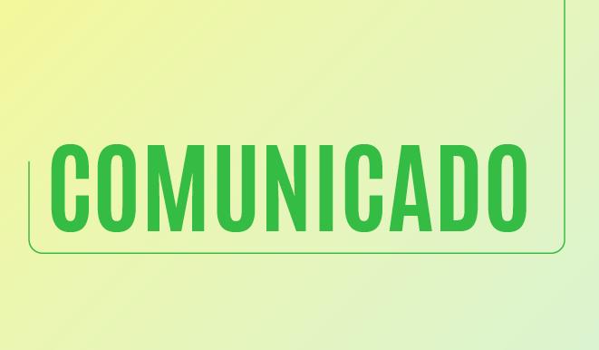 Comunicado da prefeitura Municipal de Teixeiras.