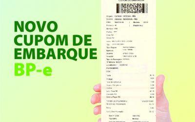 BP-e: IMPLANTAÇÃO DO BILHETE DE PASSAGEM ELETRÔNICO / A PARTIR DE 01/07 • FIQUE ATENTO ÀS MODIFICAÇÕES